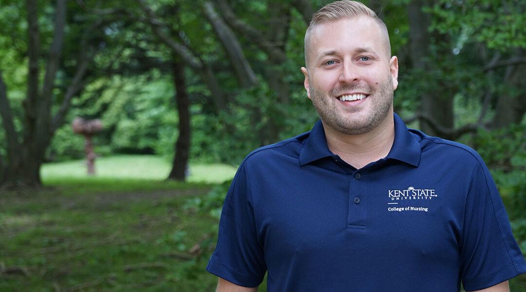 Two-time alumnus Advises Nursing Students