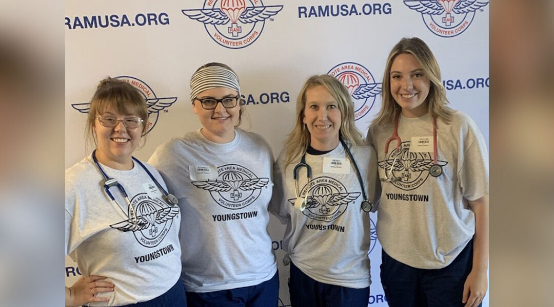 Nursing Students Volunteer with Remote Area Medical Clinic